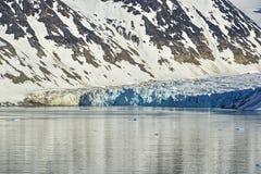 Svalbarden-Fjorde Magdalenafjord stockfoto