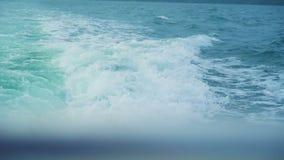 Svalla blåttvågor lager videofilmer