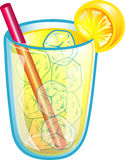 svalna drinklemonade Royaltyfri Fotografi