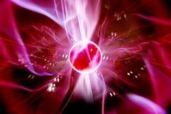 Svalna plasmabollen Arkivfoto