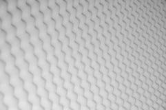 Svamppanel för solid akustisk absorbering som bakgrund royaltyfria bilder
