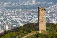 Svan tower in Tbilisi, Georgia Royalty Free Stock Photography