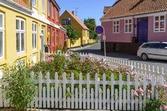 Svaneke auf Bornholm-Insel Lizenzfreies Stockbild