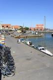 Svaneke auf Bornholm-Insel Stockbild