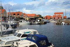 Svaneke Bornholm, Danmark Royaltyfri Bild