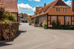 Svaneke-Stadt Lizenzfreie Stockfotografie