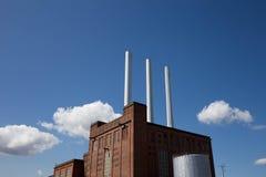 Svanemøle, centrale elettrica danese Fotografie Stock Libere da Diritti