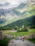 Svaneti Stockfotos