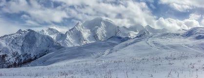 Svaneti Berge Lizenzfreies Stockfoto