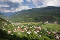 Svaneti, Georgia Stock Photo