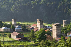 Svaneti, Georgia Fotografie Stock Libere da Diritti