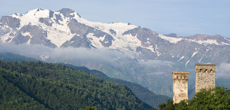 Svaneti - Georgia lizenzfreie stockfotografie