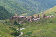 Svaneti, Gruzja Zdjęcie Royalty Free