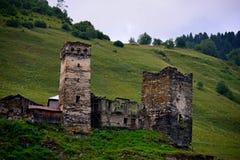 Svaneti, la Géorgie Image libre de droits