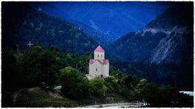 Svaneti Region Georgia. Mestia View stock photos