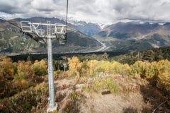 Svanetia im Herbst Lizenzfreies Stockfoto