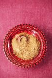 Svanetian saltar traditionell georgisk smaktillsats arkivbild