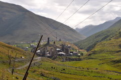 Svanetian Towers Royalty Free Stock Image