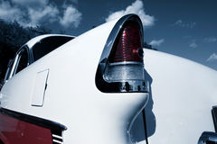 Svanlampa av den klassiska bilen fotografering för bildbyråer