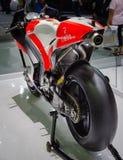 Svans för Ducati Desmosedici GP-Superbike Arkivfoton