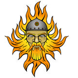 Svarog. Pagan god of fire Royalty Free Stock Image