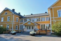Svartöstadens folks hus Royaltyfria Foton