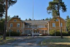 Svartöstadens People's House Stock Images
