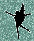 Svart ängel stock illustrationer