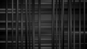 Svart abstrakt tech gör randig den videopd animeringen arkivfilmer