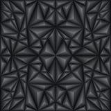 Svart abstrakt textur Royaltyfria Bilder