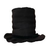 Svart bästa hatt Arkivbild