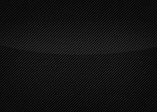 Svart bakgrund av kolfiber texturerar stock illustrationer