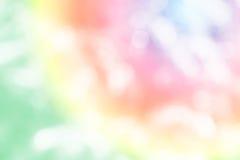 Svart bakgrund för bokehfärgljus, abstrakt suddigt Royaltyfria Foton