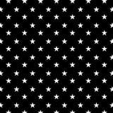 Svart bakgrund i vitt geometriskt sömlöst pattren vektor illustrationer