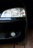 svart bana för objekt för bilclippingbillykta Royaltyfria Bilder