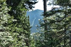 Svart berg Royaltyfria Foton