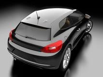 svart bil Royaltyfri Fotografi