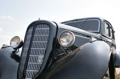svart bil för 30-tal Arkivfoton
