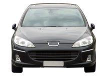svart bilframdel Arkivfoto