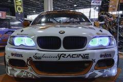 svart bilsport Royaltyfria Bilder