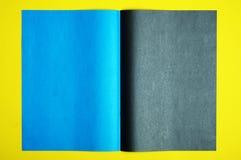 svart blå sida Royaltyfria Foton