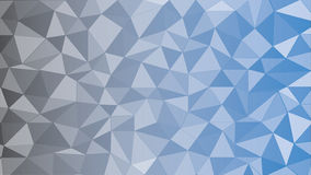 Svart blå triangel Royaltyfria Bilder
