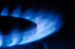 svart blått naturligt rør för bränslegas Royaltyfria Foton