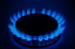 svart blått naturligt rør för bränslegas Fotografering för Bildbyråer