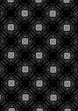 svart blom- white för bakgrund Royaltyfria Bilder