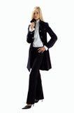 svart blond kläder Royaltyfri Fotografi