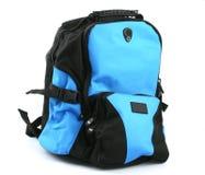 svart blue för ryggsäck Arkivbild