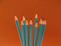 svart blyertspenna Arkivbild