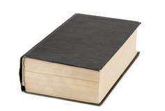 svart bok Royaltyfri Foto
