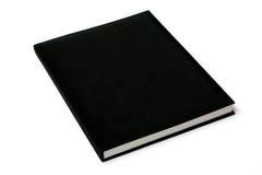 svart bok mig Arkivfoto